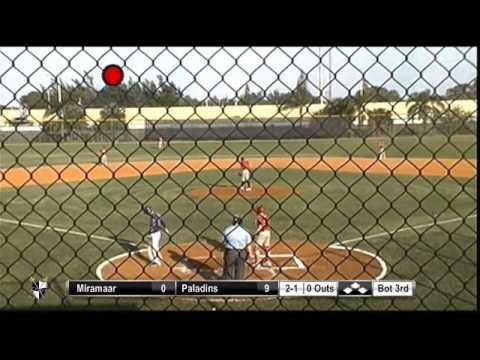 paladin baseball vs miramar