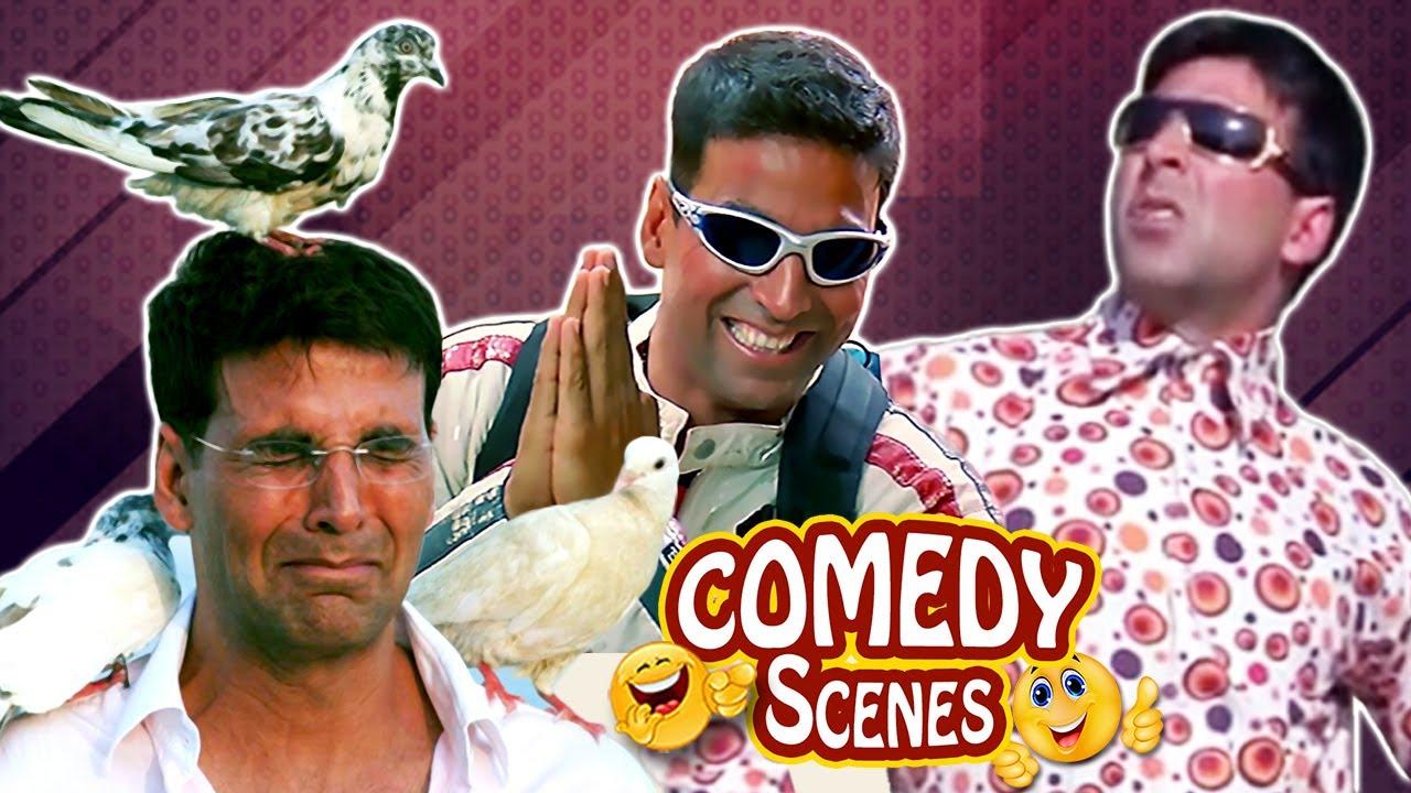 Best of Hindi Comedy Scenes of Akshay Kumar | Phir Hera Pheri - Welcome - Mujhse Shaadi Karogi
