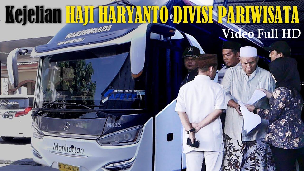Haji Haryanto Jeli Baca Peluang Bangkitnya Bis Pariwisata Indonesia
