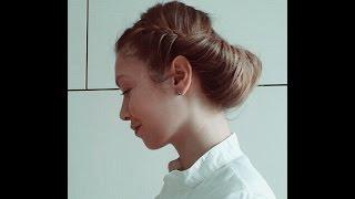 Романтическая прическа в греческом стиле без ободка/повязки by AnaLisboa