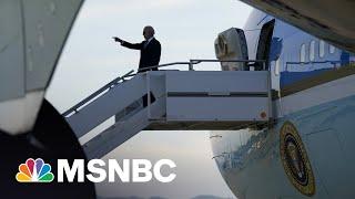 Biden Returns Home To An Agenda Still Stalled In Congress