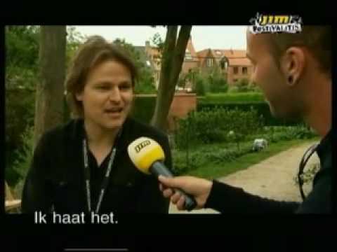 Tom McRae interview Cactus Festival Belgium