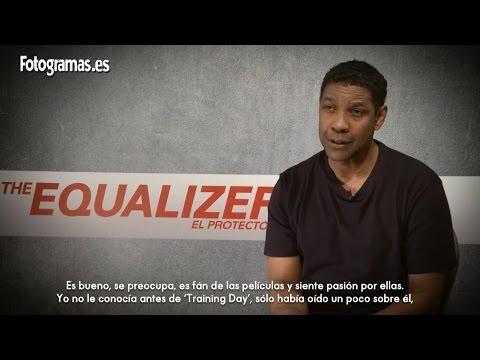 Entrevista a Denzel Washington por 'The Equalizer: El protector'