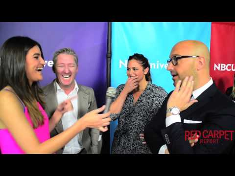 Tim Love, Antonia Lofaso & Joe Bastianich at the NBCUniversal Winter TCA Press Tour TCA2015