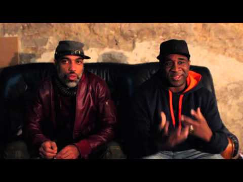 Interview with The Jungle Brothers at La Belle Angele, Edinburgh