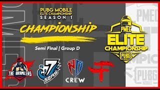 PMEC Semi Finals Group D Season 1 in PUBG MOBILE LIVE -ClashPot Mar 1