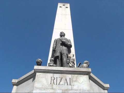 Visiting Philippine Hero Jose Rizal in Madrid, Spain