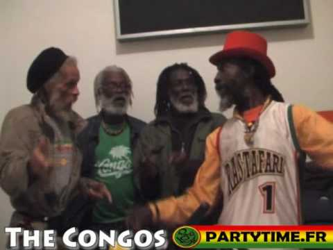 THE CONGOS - Freestyle at Party Time Radio Show - 2010