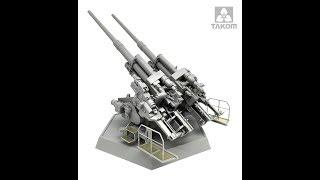 Takom - 12.80 CM FLAK 40 ZWILLING - 1:35 scale - Kit Review by Da Costa