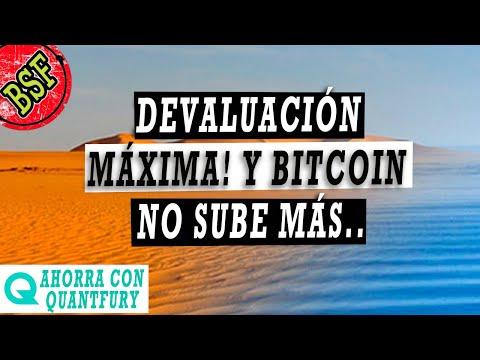 INCREIBLE! Bitcoin No Sube Mientras El Dólar Se Hunde...