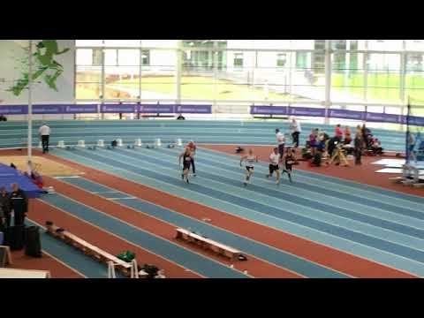 Irish Masters Indoor Championships, Athlone 2018. 60m, men 65+