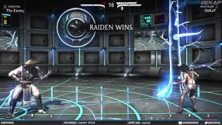 Mortal Kombat X Online Ranked Matches - Raiden The Displacer (MKX PC Gameplay)