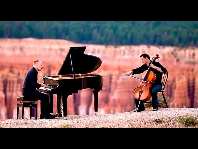 Titanium / Pavane (Piano/Cello Cover) - David Guetta / Faure - ThePianoGuys Travel Video