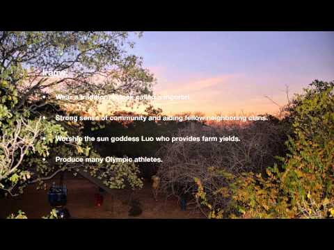 University of Colorado Boulder Tanzania Global Seminar 2013 - Dorobo Interviews/Final Project