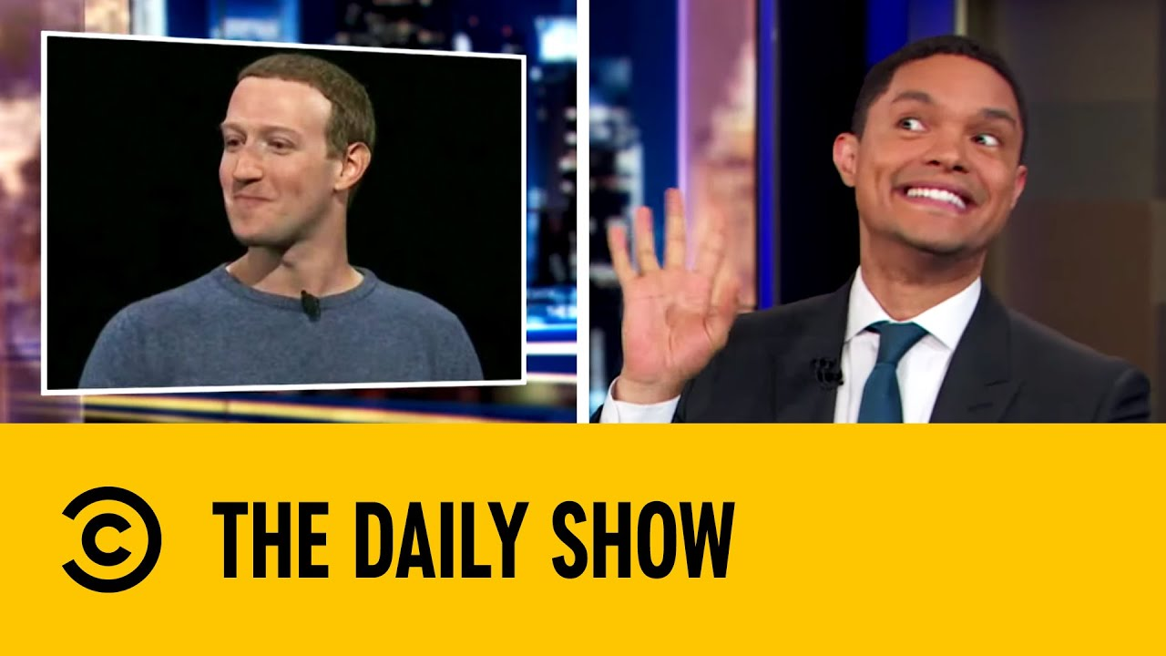 Mark Zuckerberg Jokes About Facebook's Privacy Facelift | The Daily Show with Trevor Noah