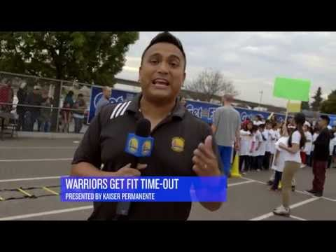 Warriors Get Fit Time-Out Presented by Kaiser Permanente