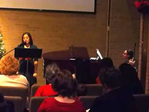 """Allison Paul singing """"I Will Remember You"""""""