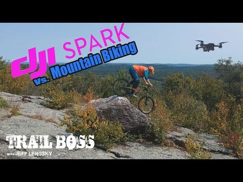 Dji Spark Drone vs. Mountain Biking.  Is it a game changer?