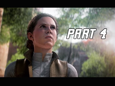 STAR WARS BATTLEFRONT 2 Walkthrough Part 4 - Princess Leia (PC Let's Play Commentary)