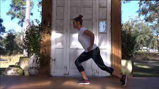 Back lunges progressions