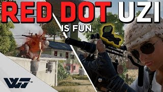 RED DOT UZI is FUN - It's stronger than ever - PUBG