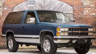 1992 Chevrolet Blazer Silverado 5-Speed Manual 4X4 - G345136 - Exotic Cars of Houston