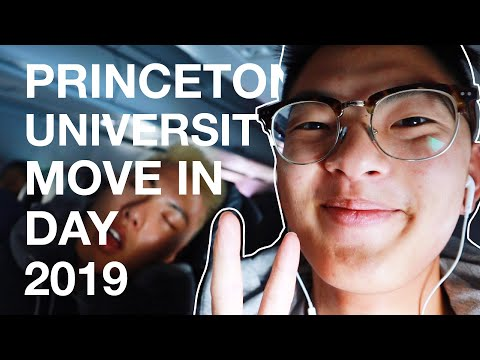 Princeton University Move In Day 2019