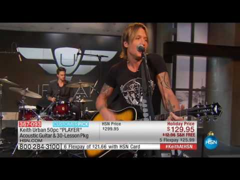 HSN | Keith Urban Guitar Collection 11.27.2016 - 02 PM