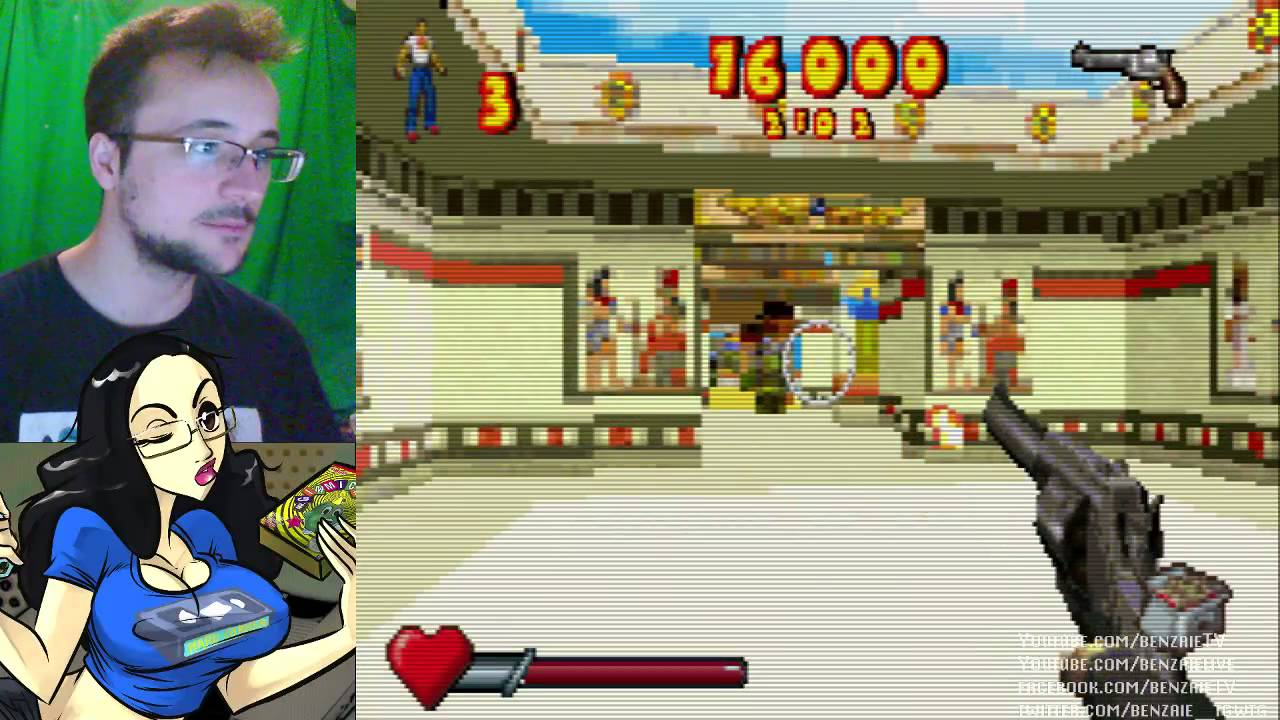 Serious Sam Max Payne Sur Gba Benzaie Live 60fps Youtube