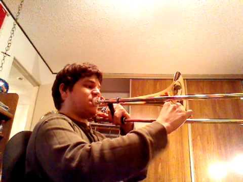 How to Play Thrift Shop Sax solo on trombone