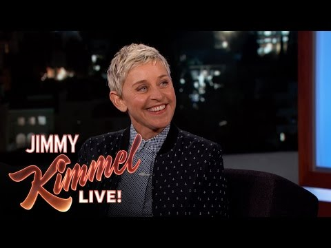 Ellen Degeneres and Jimmy Kimmel Both Garden