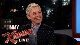 Ellen Degeneres and Jimmy Kimmel Both Garden