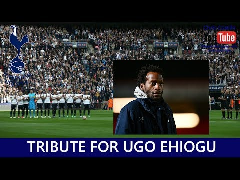Tribute and applause at Wembley for Ugo Ehiogu - Tottenham v Chelsea - FA Cup Semi-Final - 2017