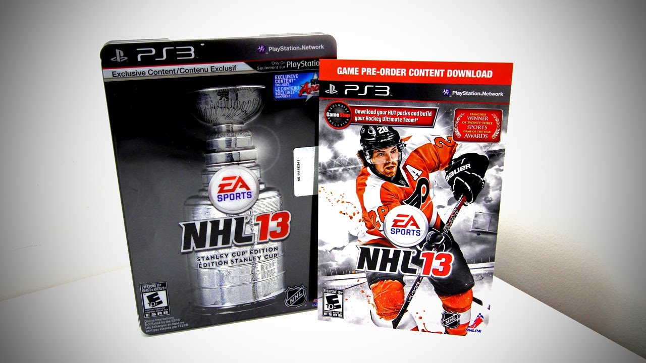 Nhl 13 stanley cup edition ps3 game for sale | dkoldies.