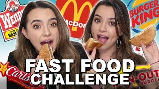 connectYoutube - Fast Food Challenge - Merrell Twins