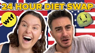 An Aussie & An American Swap Diets For 24 Hours