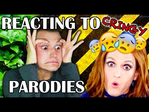 Reacting to my CRINGEY Parodies/Parody - Philip Green