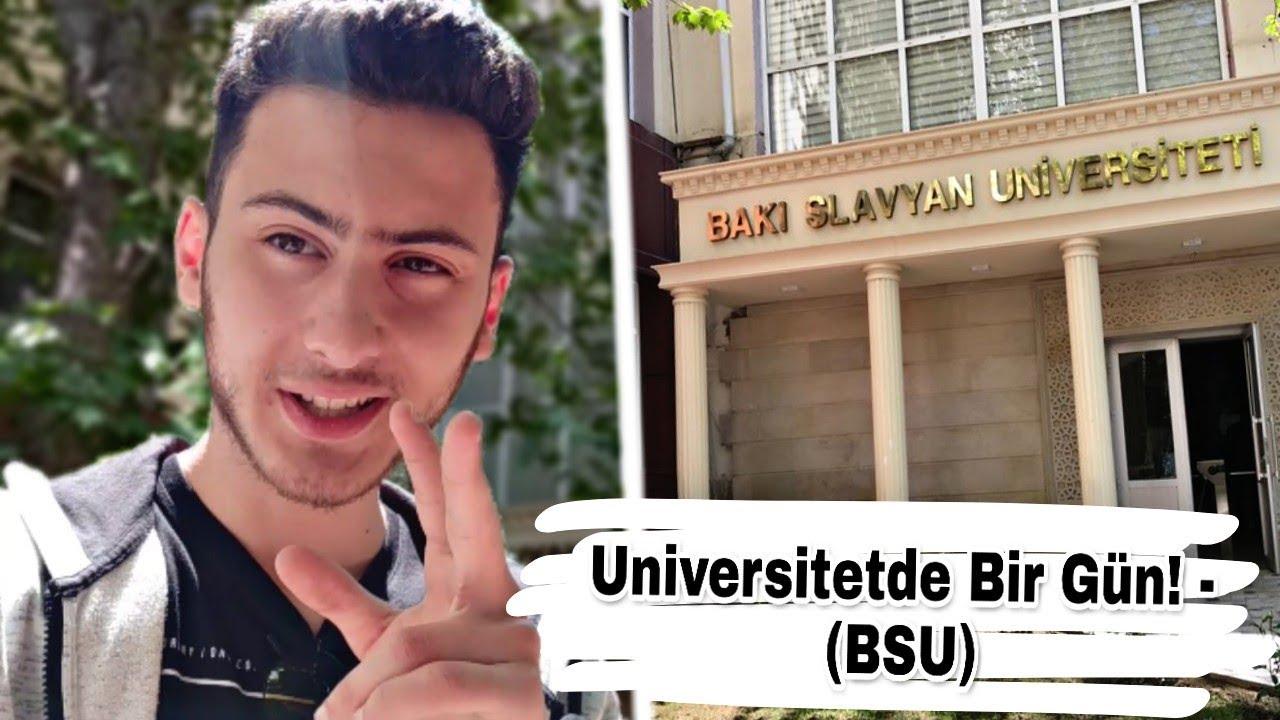 Download Bakı Slavyan Universitetində Bir Gün! - (BSU)