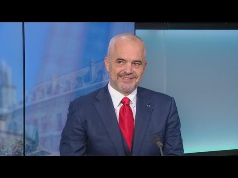 "Edi Rama : ""Il y a un grand espoir de rejoindre l'Europe en Albanie"""