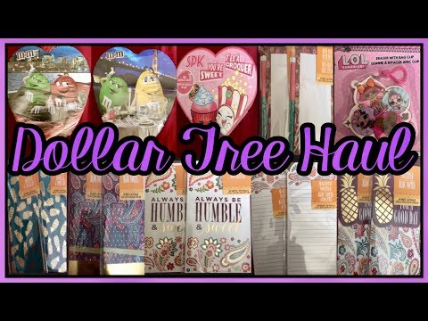 BIG DOLLAR TREE HAUL | ALL NEW ITEMS NEW STATIONERY & MUCH MORE | JAN 19 2019