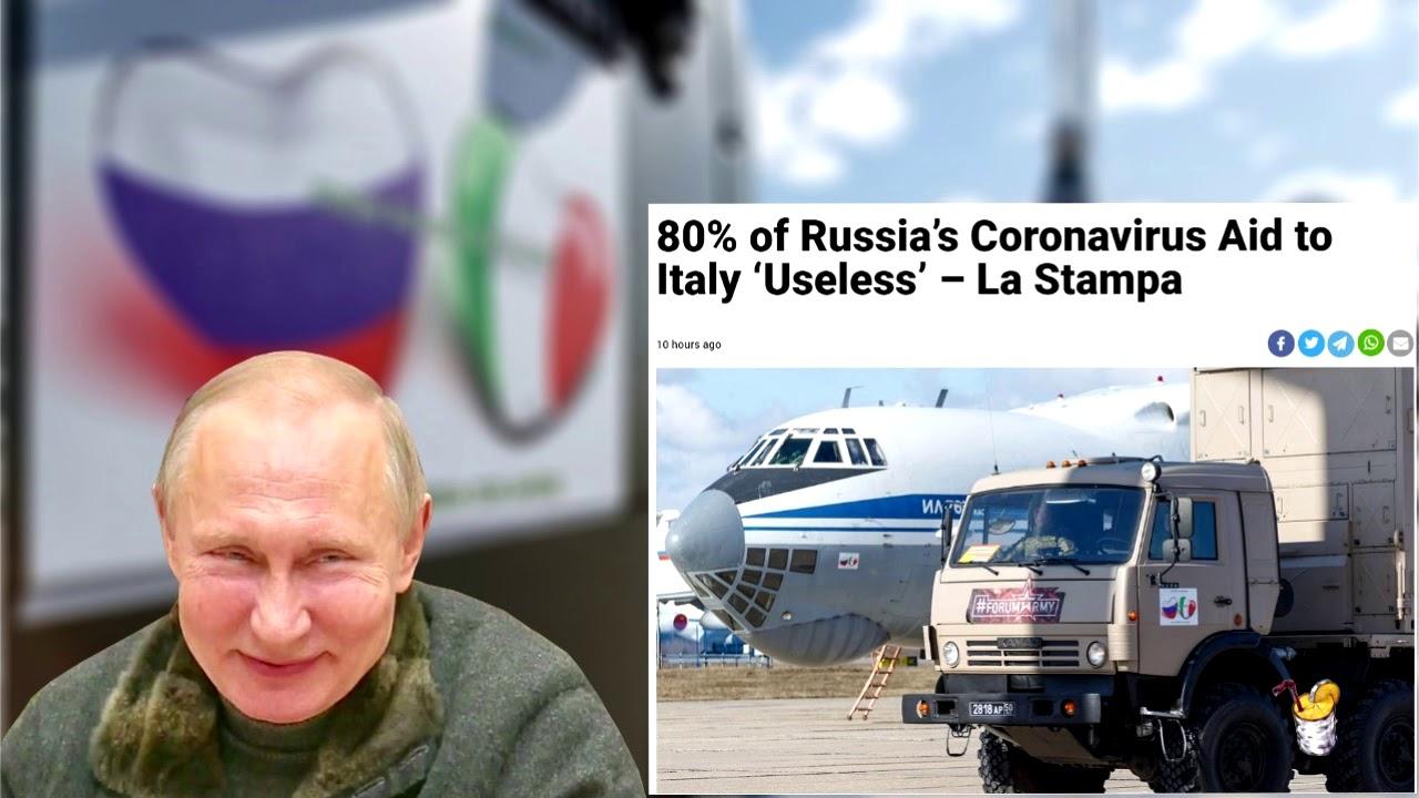 Замыливание глаз или попытки России воспользоваться  пандемией для снятия санкций и «объединения»