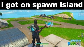 "How to get to ""spawn island"" in fortnite season 6... 😱"