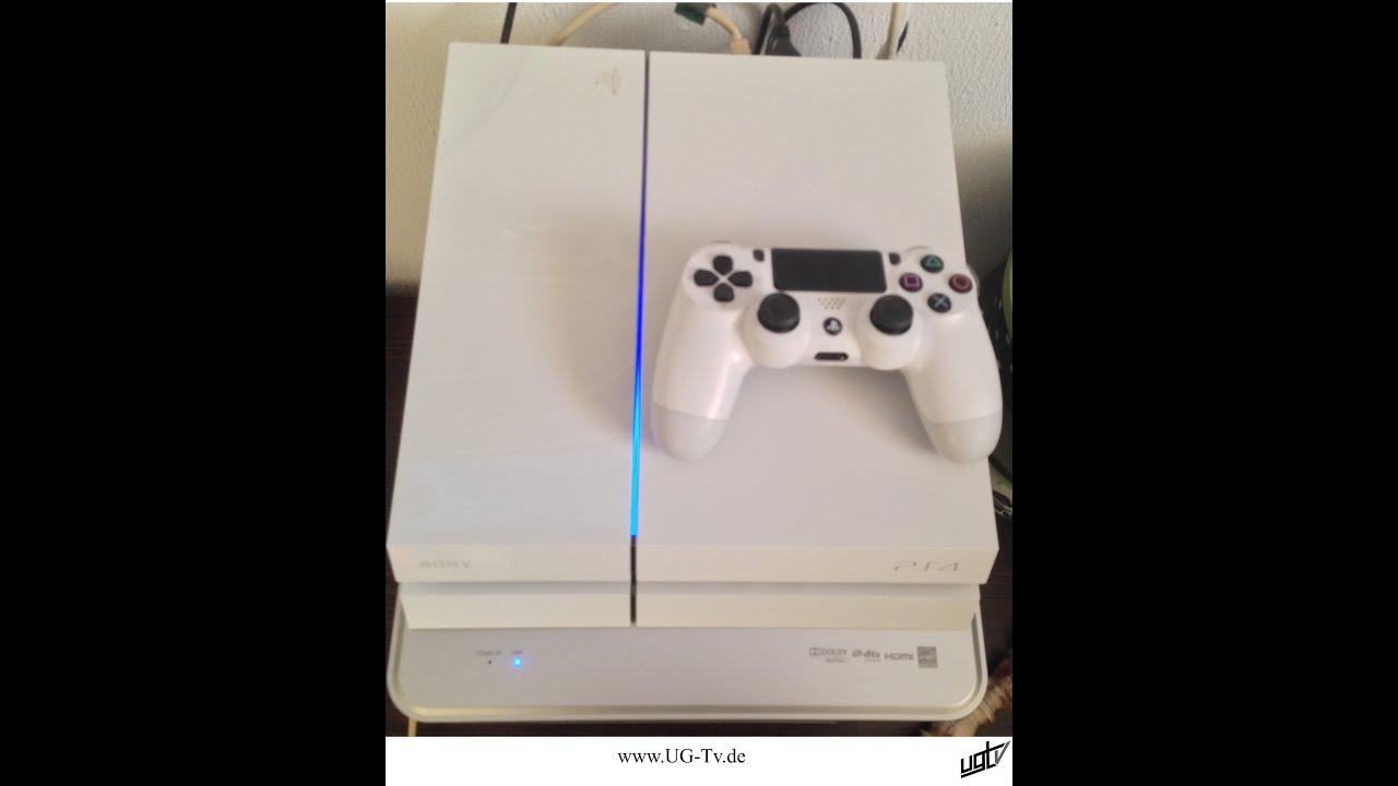 White Playstation  Cake