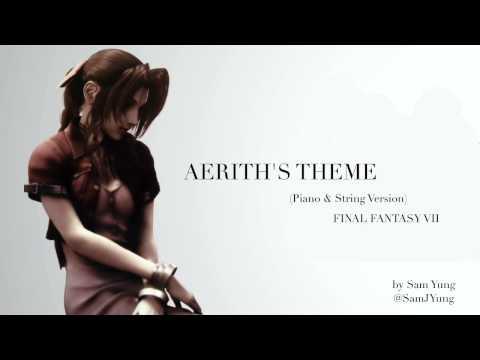 Aeriths Theme Piano & String Version  Final Fantasy VII Remake Tribute