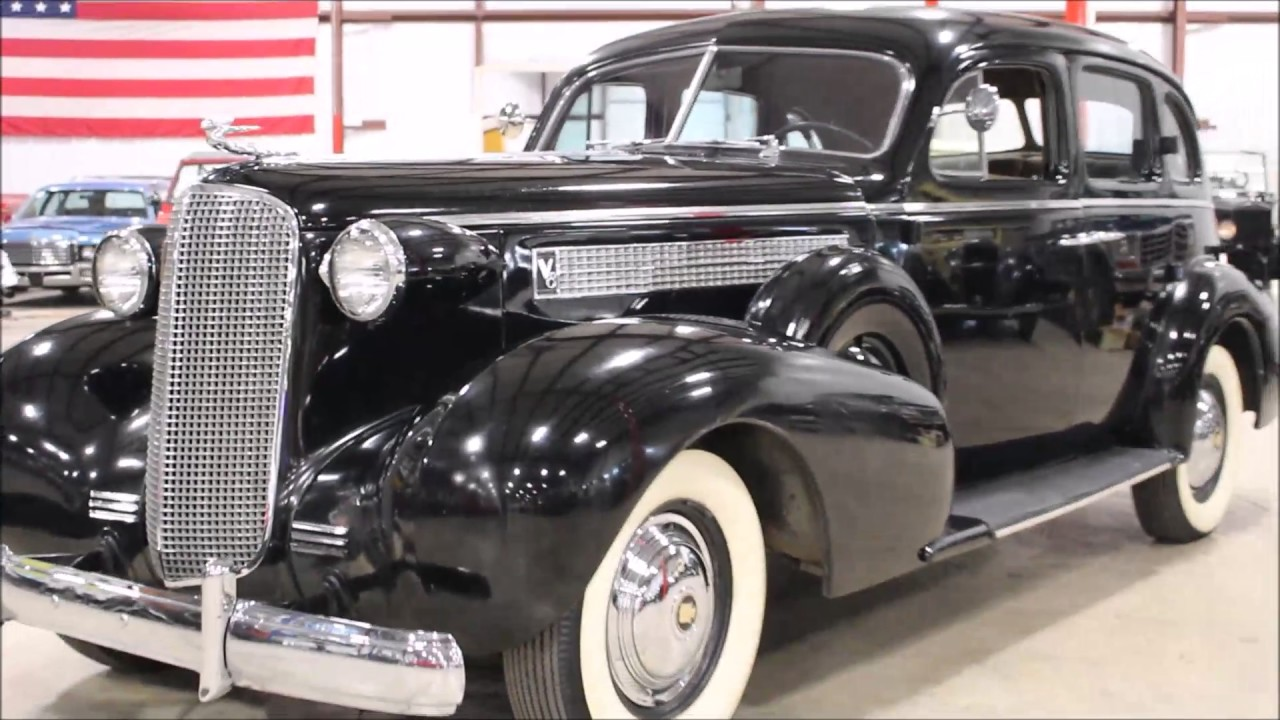 1937 Cadillac Series 60 - YouTube