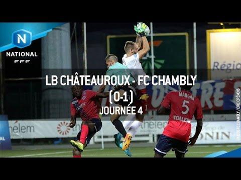 J4 : LB Châteauroux – FC Chambly (0-1), le résumé