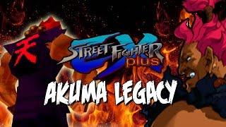AKUMA GOES 3D! - Akuma Legacy: Street Fighter Ex +