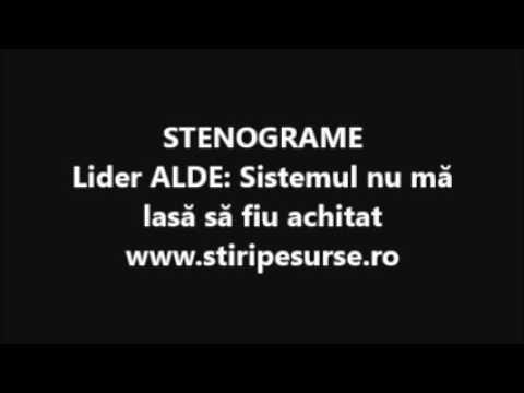 STIRIPESURSE.RO Stenograme ALDE. Dian Popescu luptă cu sistemul