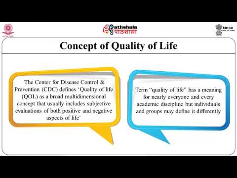 Lifestyle diseases and quality of life