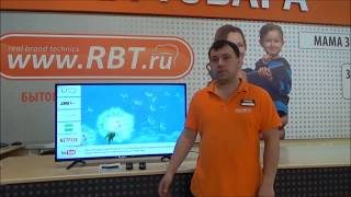 видеообзор телевизора DOFFLER 43DFS 69 со специалистом от RBT.ru